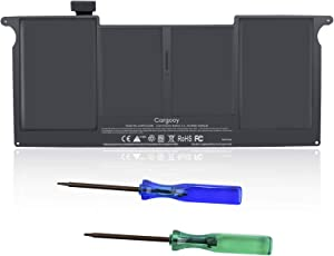 Cargooy New A1495 A1406 Laptop Battery for MacBook Air 11 inch A1370 (Mid 2011) A1465 (Mid 2012 Mid 2013 Early 2014 Early 2015) fits MC968 MD223 MD711 020-7376-A 020-7377-A