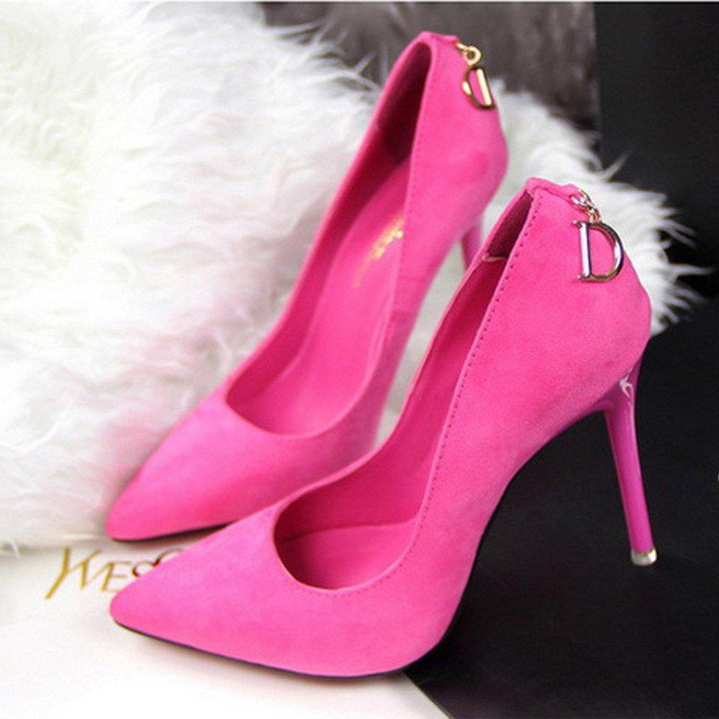 Minetom Femme Escarpin Plateforme Talon Haut Su/ède Stilettos Soir/ée Mariage Bal Classique Chaussures