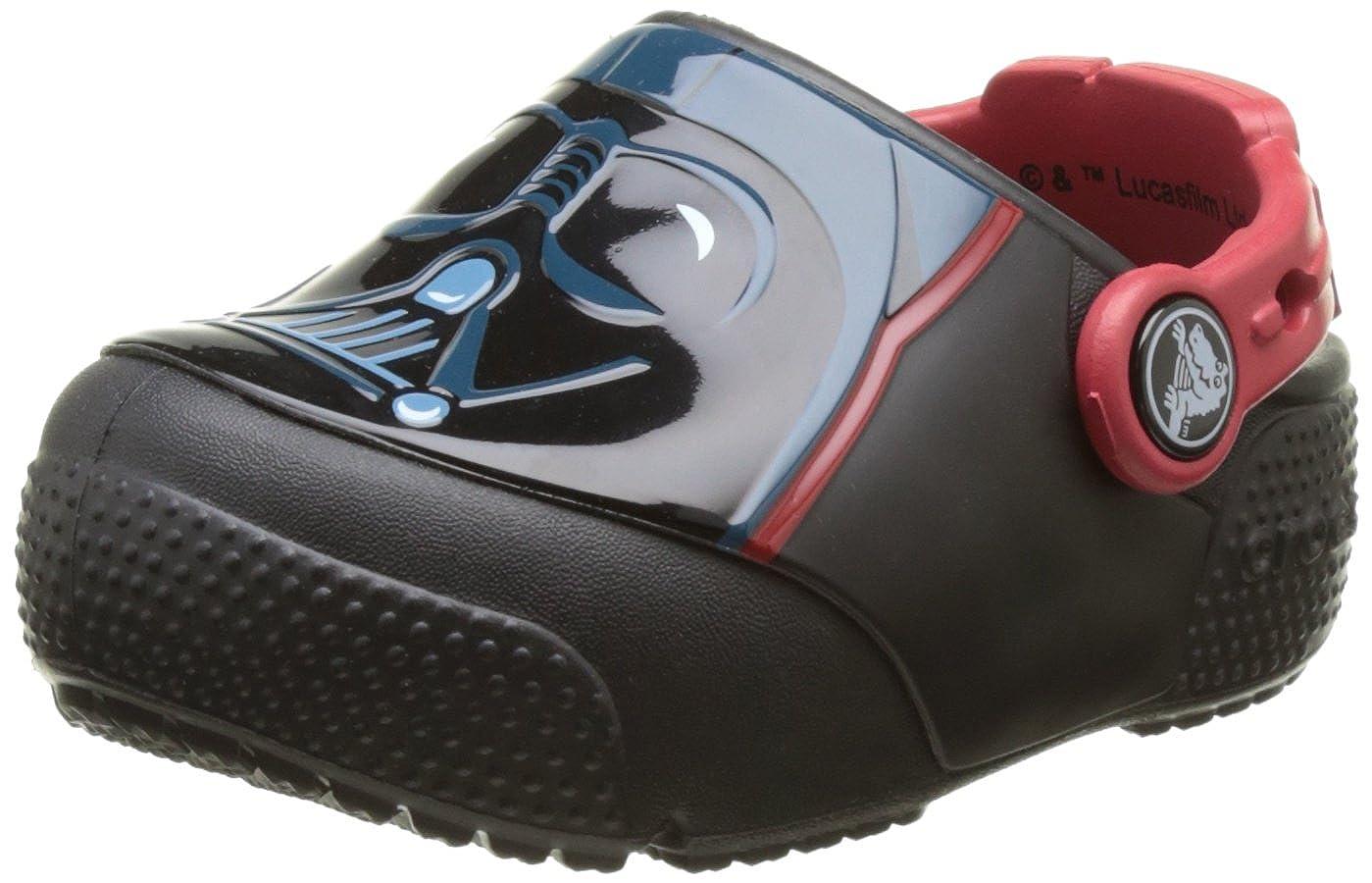 K Crocs Kids Fun Lab Light-Up Darth Vader Clog CrocsFunLab Lights Darth Vader