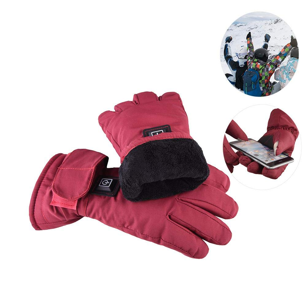 Yunt Electric Heated Gloves,Waterproof Touch Screen Heating Gloves by Yunt (Image #6)