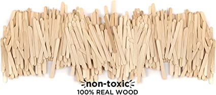 """Nuevo /""""Crayola Craft palos de madera palos de color natural o Lolly piezas Crafts"""