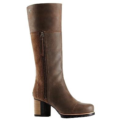 Sorel Addington Tall Boot - Women's Umber / Black 6