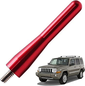 """2006-2010 Jeep Commander 13/"""" Black Stainless AM FM Antenna Mast FITS"""