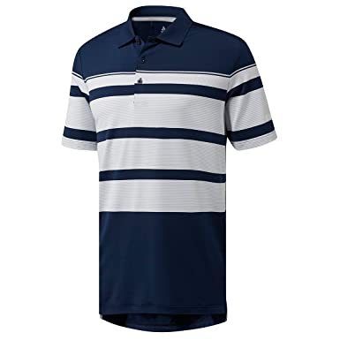 ac4115b1 adidas Men's Ultimate Wraparound Polo Shirt: Amazon.co.uk: Clothing