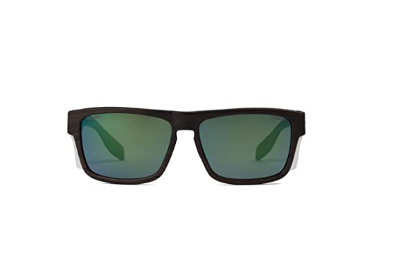 Pegaso Brave Gafas de sol, Madera/Verde Revo, 51 Unisex ...