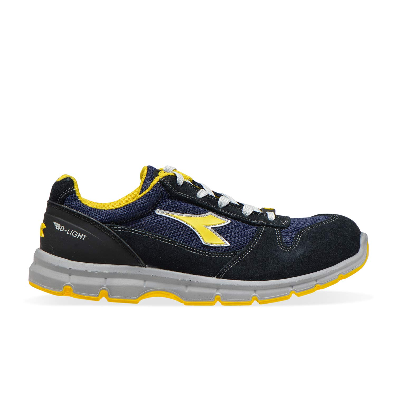 C1246 - Dark Navy-dark Navy Utility Diadora - Low Work shoes Run II Text ESD Low S1P SRC ESD for Men and Women IT 45