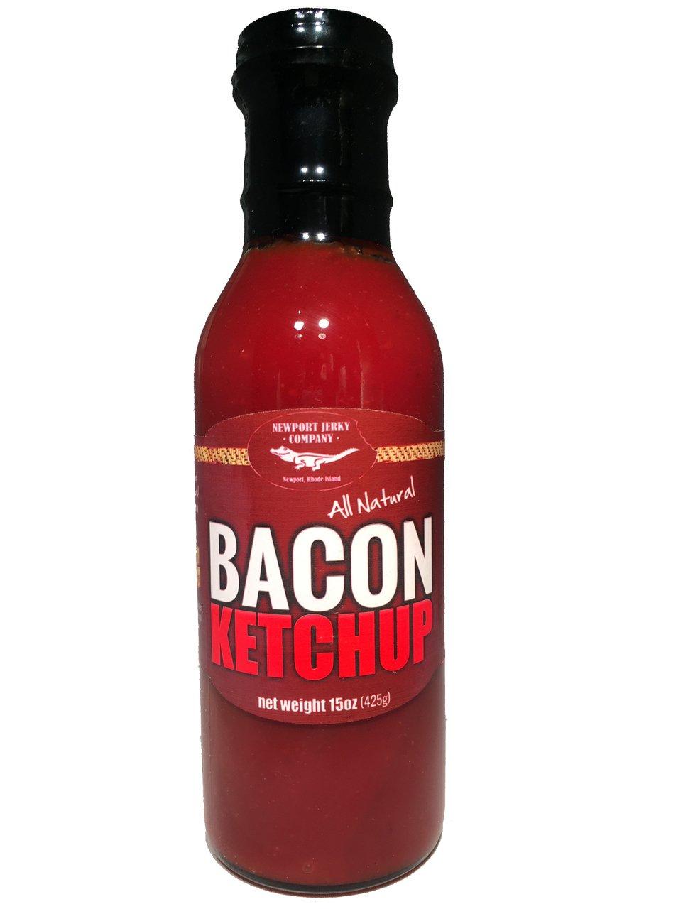 All Natural Bacon Ketchup by Newport Jerky Company