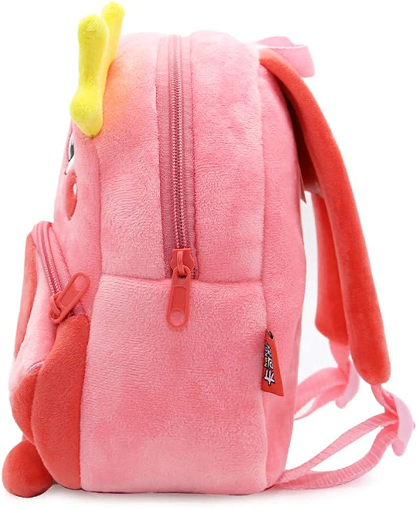 Children Baby Girls Boys Cute Cartoon Animal Backpack Toddler School Bag