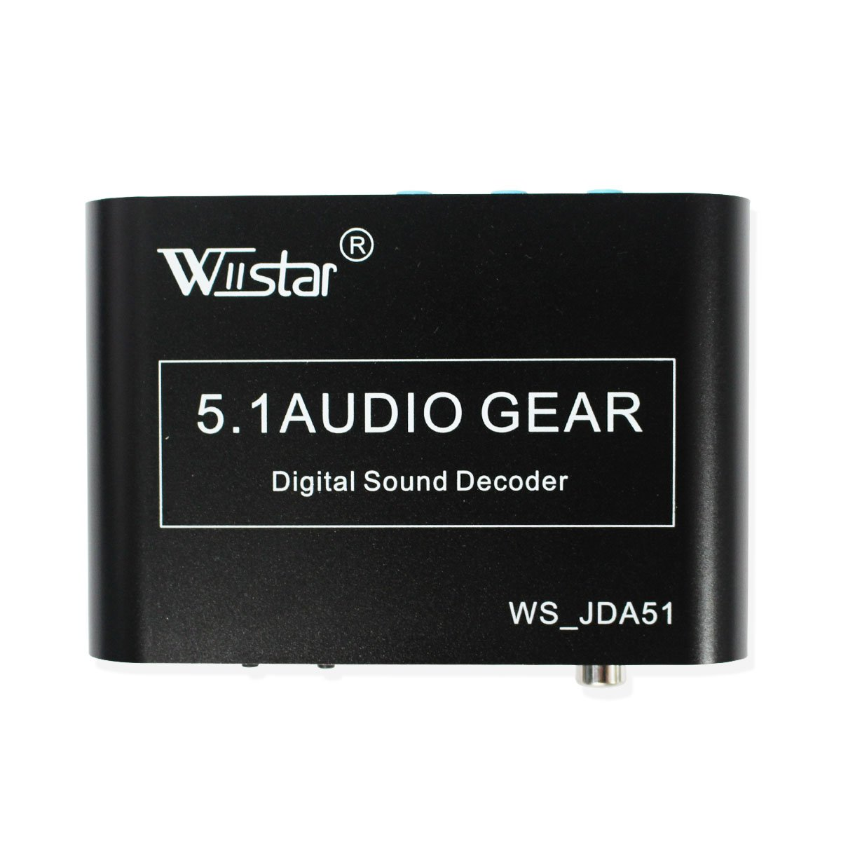 Wiistar 5.1 AC3/DTS Audio Gear Digital Surround Sound Rush Decoder HD Player with USB Port