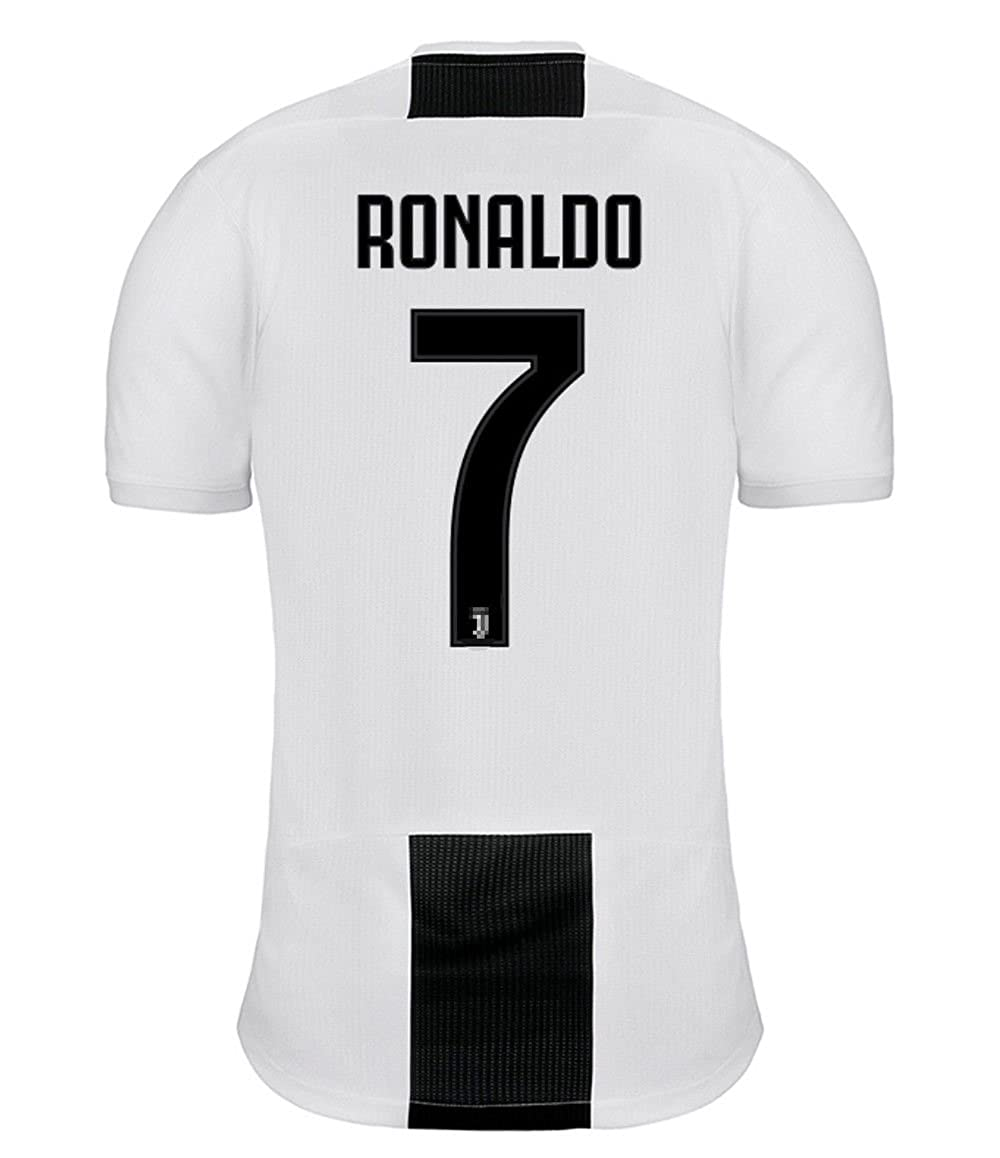 WOola New Juventus Ronaldo # 7 Men's Soccer Jersey