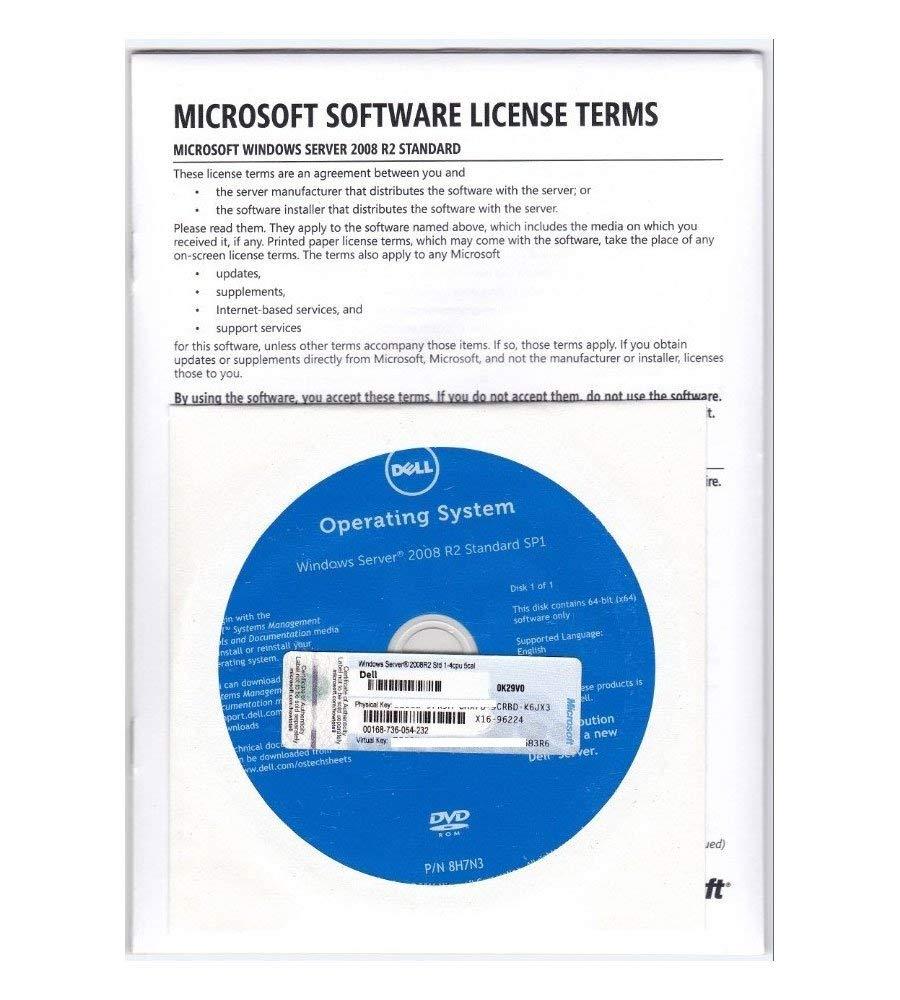 MEDIA Digital Windows Server 2008 R2 Standard 64-bit 5 Cal by MEDIA DIGITAL
