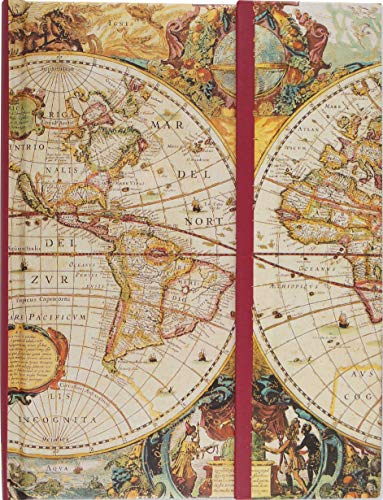 Old World Journal (Notebook, Diary) (Travel Journal) (Guided Journals) (Full Size Foldover Journals) ()