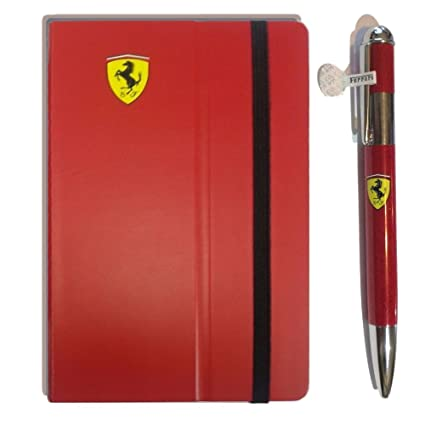 Amazon.com: Genuine Ferrari Notebook W/Pen: Sports & Outdoors