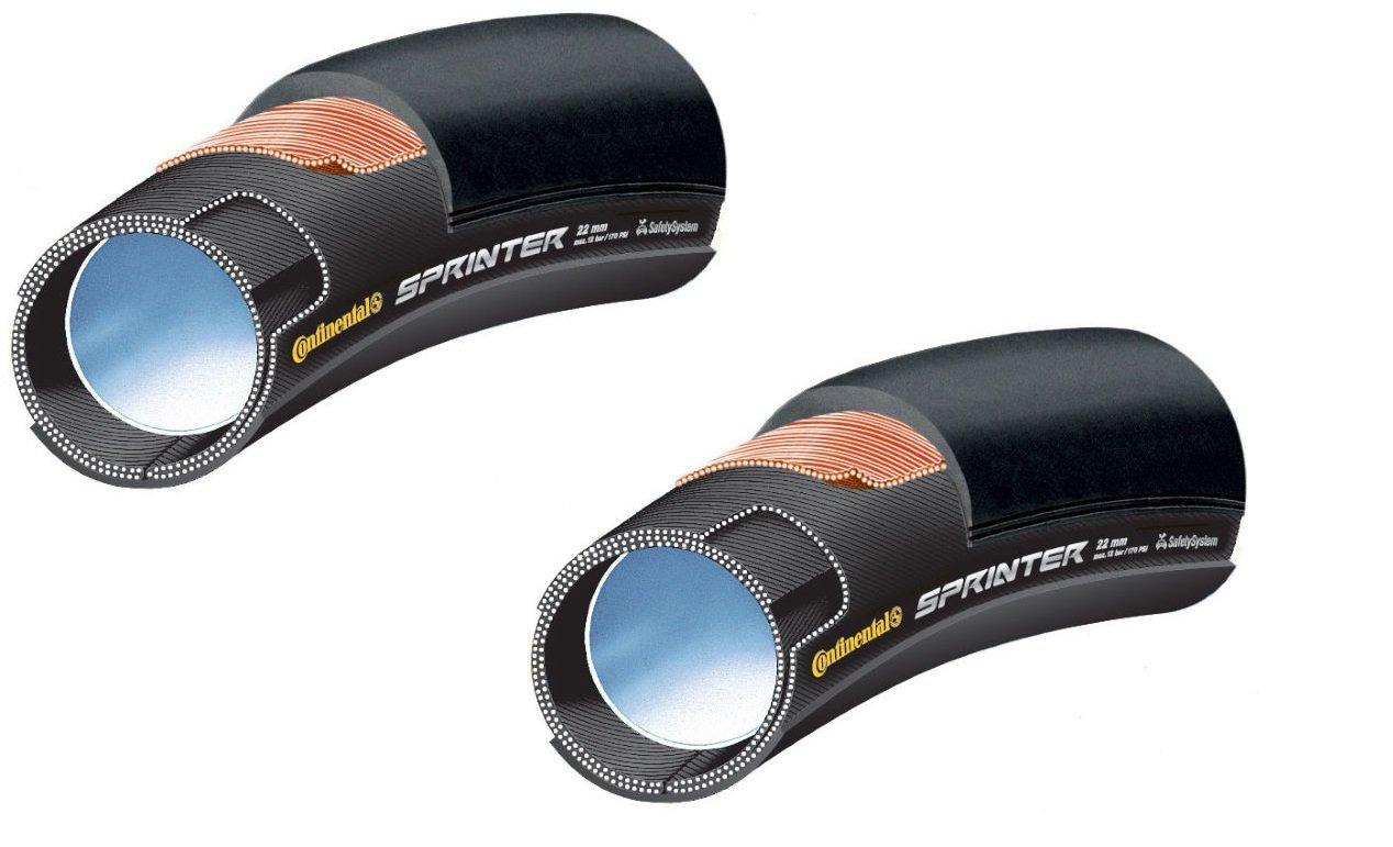 2本セット Continental(コンチネンタル) SPRINTER スプリンター チューブラータイヤ [並行輸入品] B01N5M9X4628\