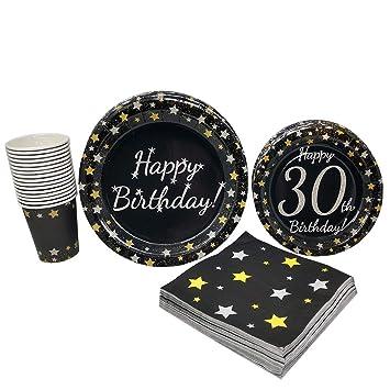 Amazon.com: Suministros para fiesta de cumpleaños número 30 ...