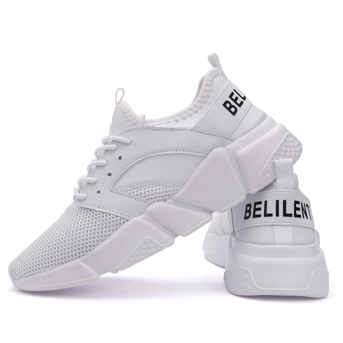 Women's Lightweight Walking Shoes Breathable Mesh Soft Sole for Casual Walk Outdoor Workout Travel Work by Belilent (Image #8)