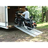 Aluminum Ramp 7 ft. USA - Motorcycles Onto Trailers - 740 MCDR Ramp