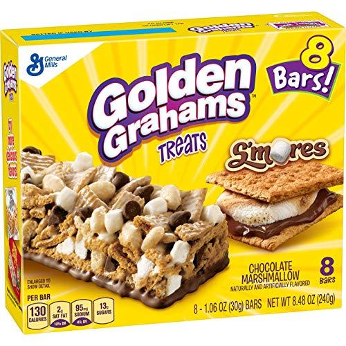 Treats Bar Golden Grahams Treats, Chocolate Marshmallow, 8 Count