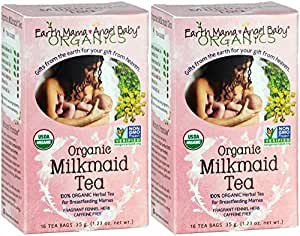 Earth Mama Angel Baby Organic Milkmaid Tea - 16 ct - 2 pk