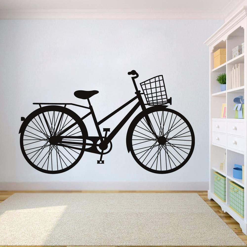 ONETOTOP Bicicleta Tatuajes de Pared Diseño Arte de La Pared Cafe ...