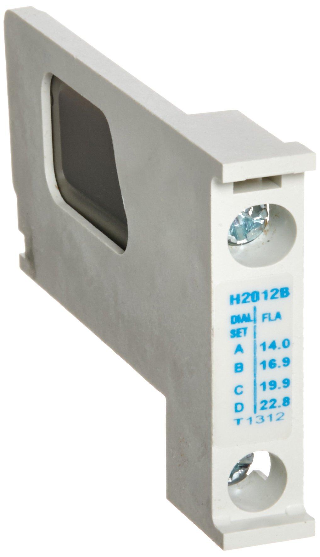 Eaton H2012B-3 Nema Starter Heater Pack, 14.0-22.8 Motor FLA (Pack of 3)