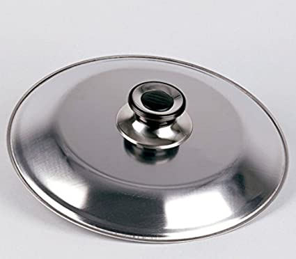 Lifestyle - Tapa volteatortillas INOX - 28 cm: Amazon.es: Hogar