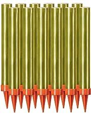 12 Stück je 60 Sek. Eissterne Zaubersterne Eisfontäne Traumsterne ideal für Verlobung-Hochzeit-Geburtstag Jugend-Party-Tisch-Feuerwerk und als Dekoration für Kuchen Torten und Flaschen, Hülle in gold