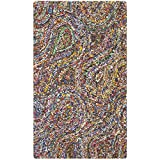 Safavieh Nantucket Collection NAN437A Handmade Abstract Burst Multicolored Cotton Area Rug (2'3″ x 4′) Review