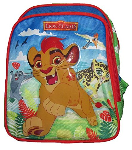 Disney The Lion Guard Deluxe 3D Embossed 10 inch School Mini-Backpack