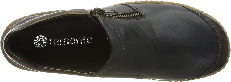 Remonte Women's R4701 Loafers Blue Kakao Lake Antik 15