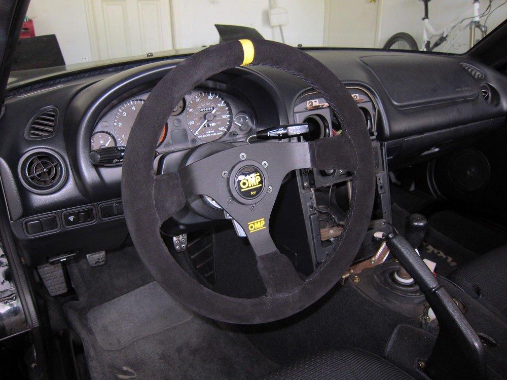 Omp OMPOD//1979//N WRC Volante Black Suede Schwarz Unique