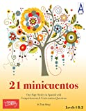 21 Minicuentos Full-Size Reproducible Spanish Level 1 Reader