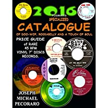 2016 FOSMAN'S SPECIALIZED CATALOGUE PRICE GUIDE