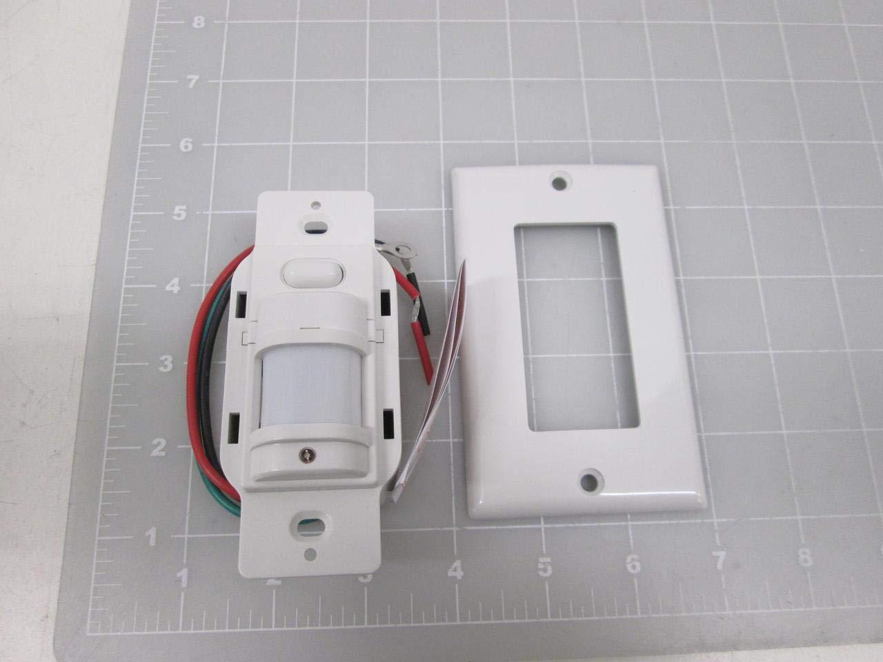 Amazon.com: Hubbell iws-zpm-w Sensor de movimiento PIR ...