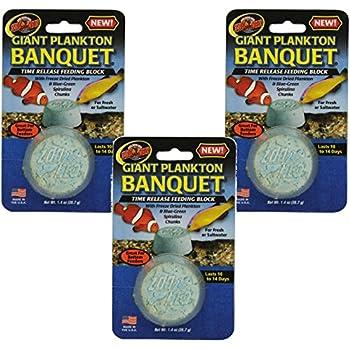 Amazon Com Zoo Med Laboratories Plankton Banquet Block