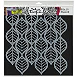 Crafters Workshop Template, 12 by 12-Inch, Art Deco Leaves, Model: TCW-450, Office/School Supply Store