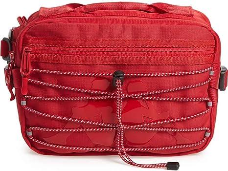 Red// White Kappa 222 Banda Aldaz Waist Bag