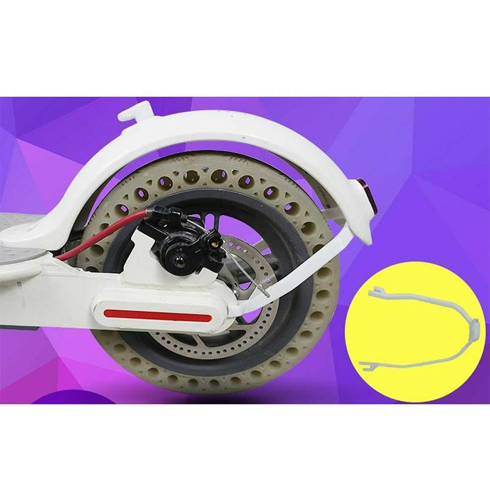 protecci/ón de reemplazo para exteriores LNIMIKIY Mudguard cable de luz trasera duradero para Xiaomi M365 Blanco Soporte profesional de piezas para scooters y accesorios de modificaci/ón