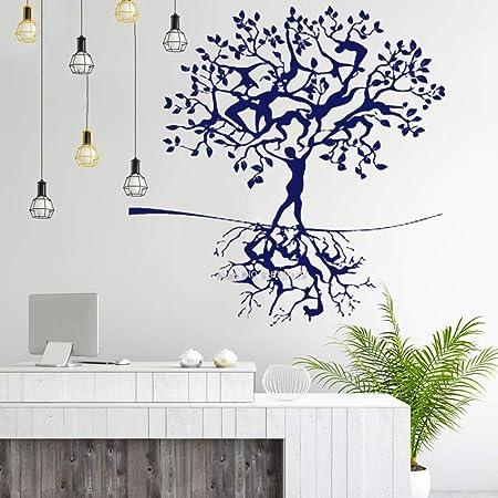 YuanMinglu Raíz del árbol Humano Rama Pegatinas de Pared ...