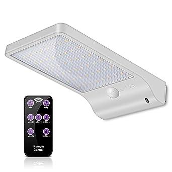 Lampes Solaires 48 LED avec Télécommande, ECHTPower Lampe Solaire ...