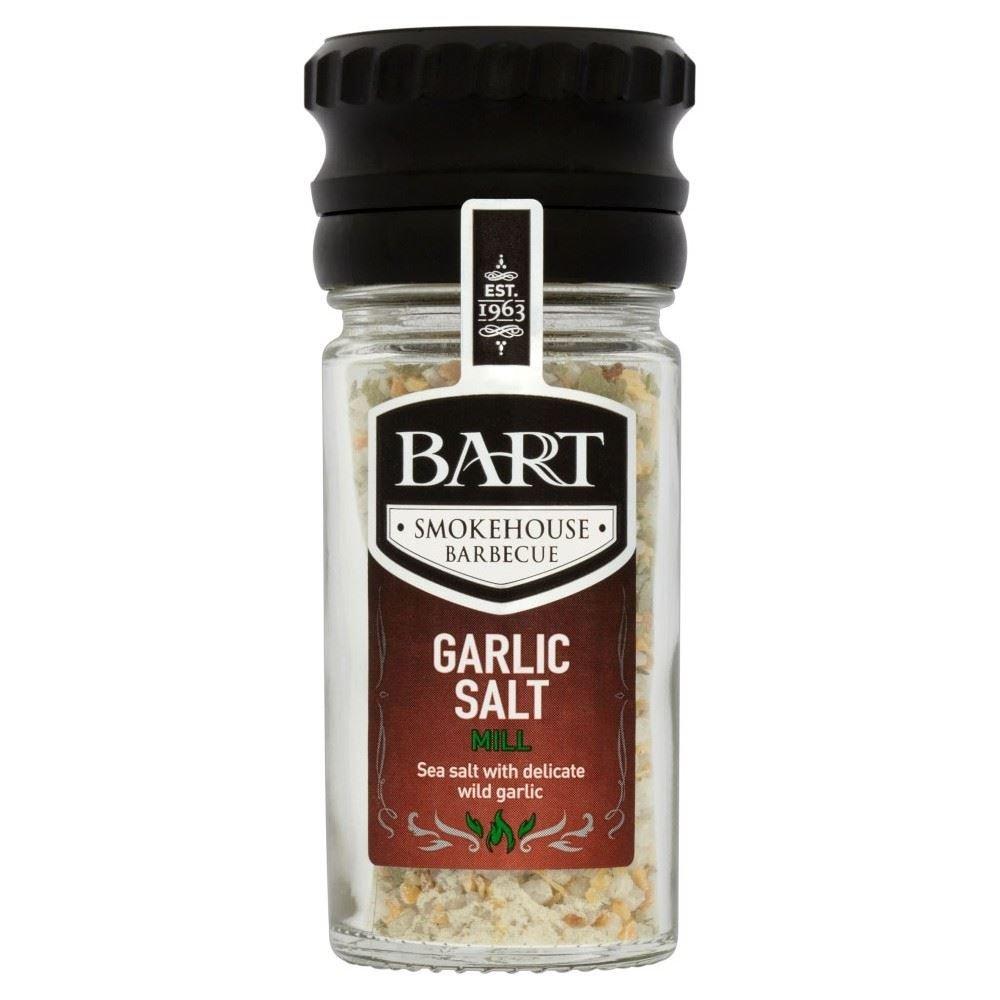 Bart Smokehouse Barbecue Garlic Salt Mill (60g) - Pack of 2