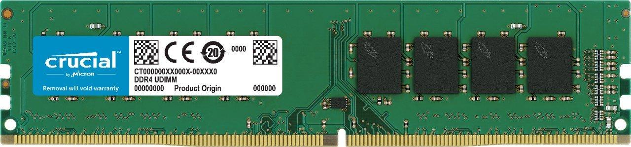 【はこぽす対応商品】 Crucial [Micron製] DDR4 4GB デスク用メモリー 16GB B019FRDFU0 x 4 288pin (2400MT/s/ PC4-19200/ 288pin/ DR x8)永久保証 CT4K16G4DFD824A B019FRDFU0 4GB x1 4GB x1, 楽器PLAZA:13d3e227 --- efichas.com.br