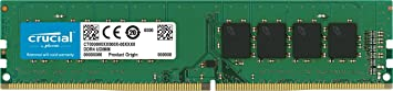 Crucial CT4G4DFS824A 4 GB 2400 MTps DDR4 288-Pin RAM Memory at amazon