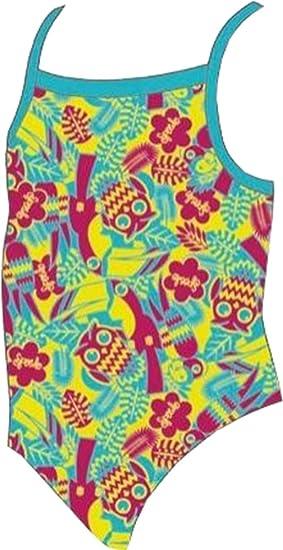 Speedo Girls Sea Squad Thinstrap Swimsuit Chlorine Resistant
