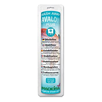 Madeira Avalon Plus Wash Away Stabilizer 30Cm X 3M