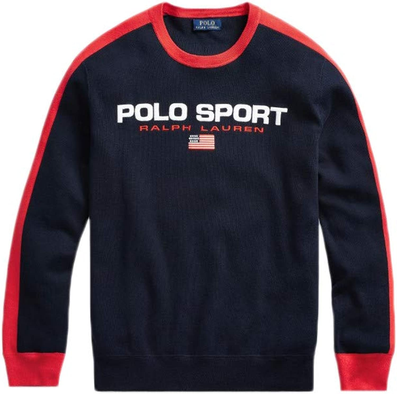 Ralph Lauren - Polo deportivo para hombre, diseño de rayas rojas ...