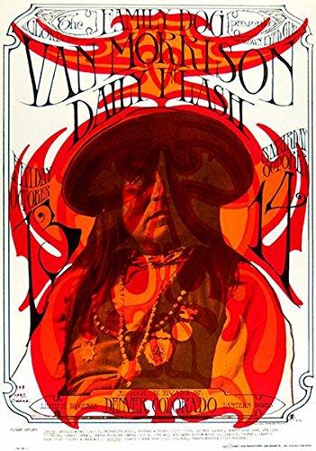 Van Morrison - 1967 - Denver Colorado - Concert Poster