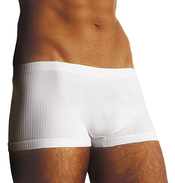 SENSI Boxer Uomo Intimo Parigamba CotoneTraspirante Senza Cuciture Seamless Made in Italy