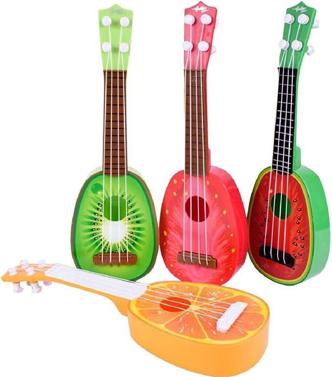 Tongshi Los niños aprenden Guitarra Ukulele Mini fruta puede tocar ...