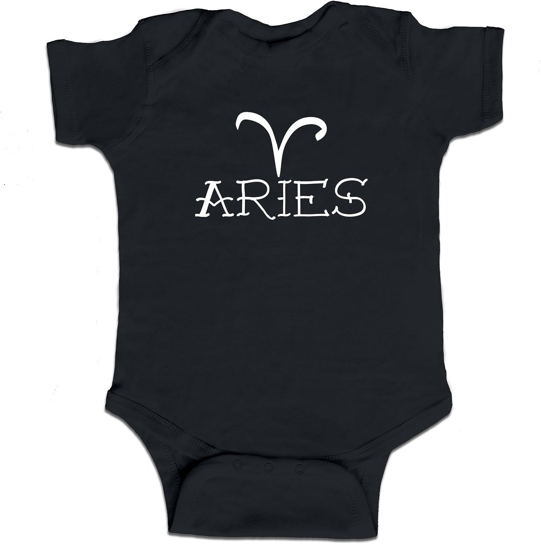 Aries Zodiac Sign Baby Boy Bodysuit Infant